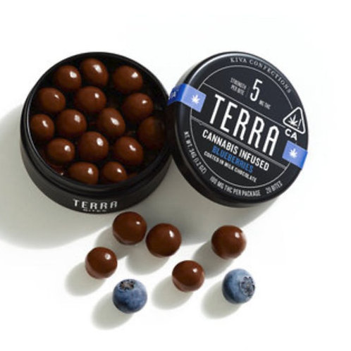 Kiva Milk Chocolate Terra Bites - Blueberries
