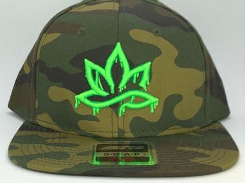 HPC Camo Dad Hat - Neon Dab Logo
