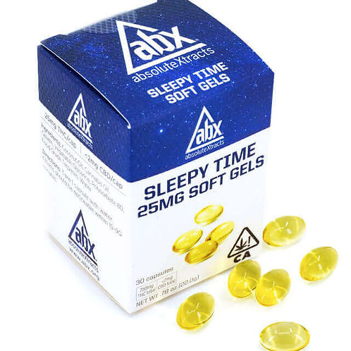 ABSOLUTE EXTRACTS - SLEEPYTIME 25MG SOFT GELS (30)