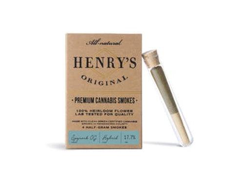 Henry's | Spyrock OG Preroll 4-pack | 2g