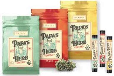 Papa's Herb Flower Prepackaged 1/8th - Afgan, 1/8