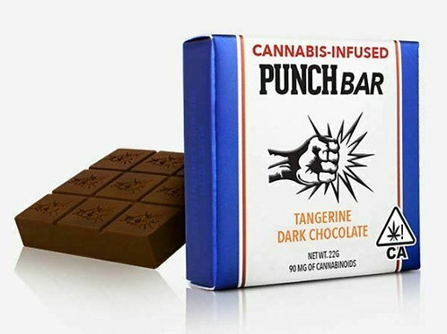 Punch Edibles Punch Bar - Dark Chocolate Almonds