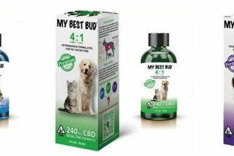 My Best Bud 4:1 CBD Pet Medicine