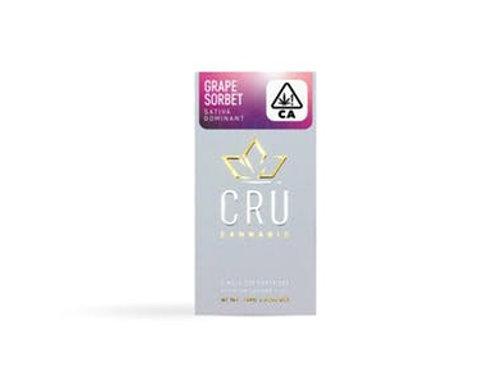 CRU   Grape Sorbet Cartridge   0.75ml