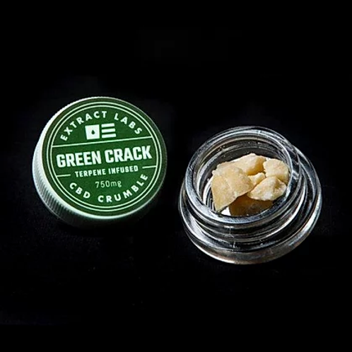 Extract Labs Green Crack Crumble- 750mg CBD
