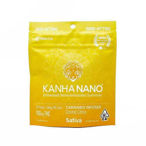KANHA: NANO COSMIC CITRUS SATIVA GUMMIES 100mg