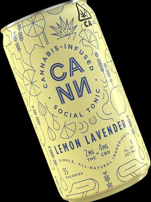 CANN CBD LEMON LAVENDER TONIC 6PK 7.5FL OZ