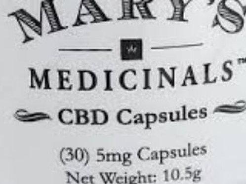 Mary's Medicinals | CBD Capsules | 30 pack