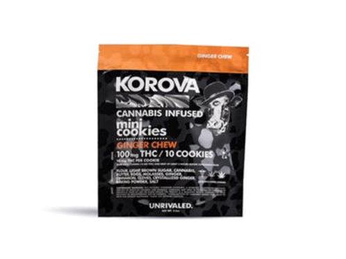 Korova | Mini Ginger Chew Cookies