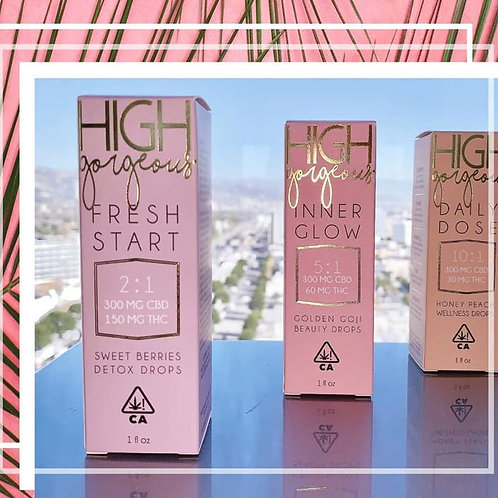 High Gorgeous Body Lotion - In your Dreams 100mg THC 100mg CBD