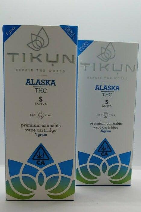 Alaska THC .5g Sativa Cartridge - TIKUN