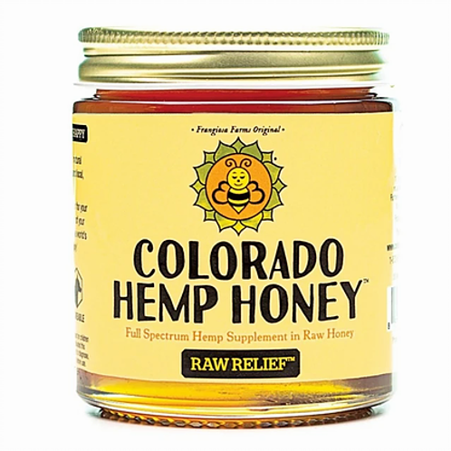 Co. Hemp Honey 'Raw Relief' 6oz Jar- 500mg CBD
