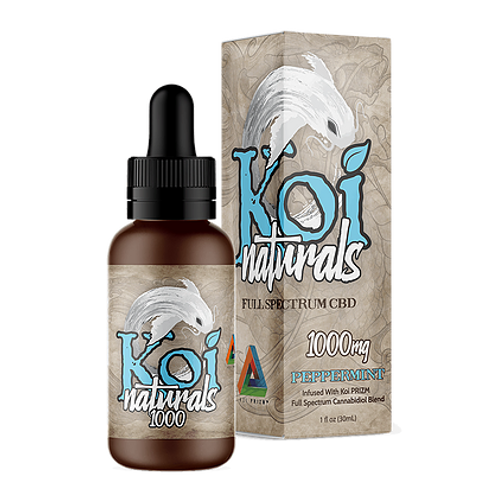 Koi Peppermint Oil- 1,000mg CBD