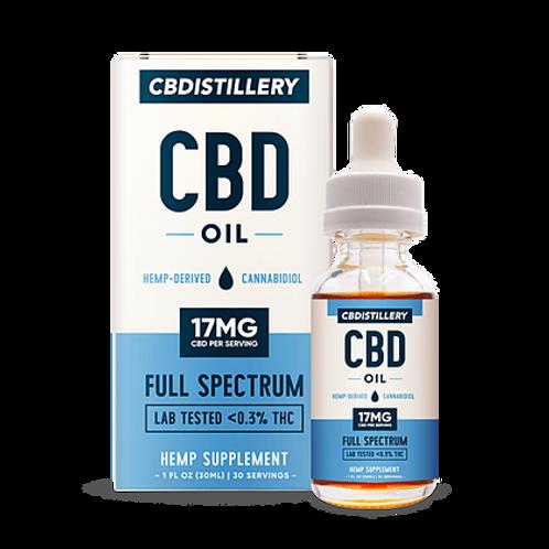CBDistillery 500 mg Oil