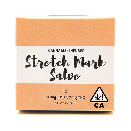 Cannabis - Infused Stretch Mark Salve 1:1