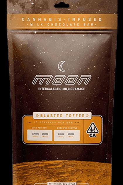 MOON BLASTED TOFFEE CHOC BAR 100MG