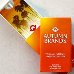 Autumn Brands Pre-Roll 7 Pack - Tangerine Dream, 1/8