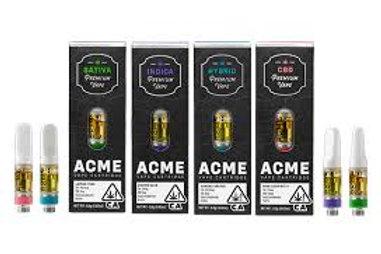 Acme .5g Cartridge - Trainwreck, 0.5 g