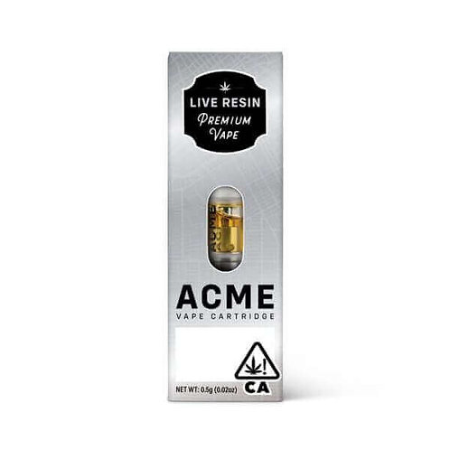 ACME: MANDRIN CAKE LIVE RESIN .5g CART