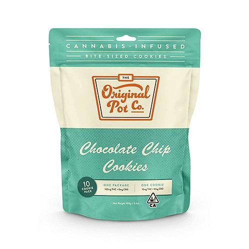 ORIGINAL POT CO: CHOCOLATE CHIP COOKIES 10 PACK