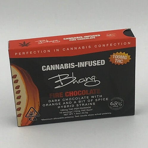 Fire 100mg Chocolate Bar by Bhang
