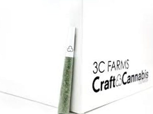 3C Farms Illuminati OG 1g Pre Roll
