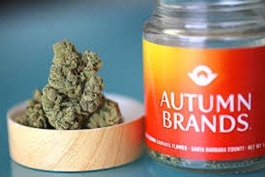 Autumn Brands 3.5g Flower Banana Dawg, 1/8