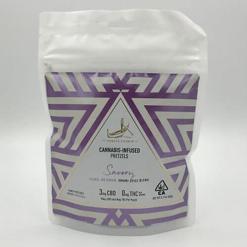 Savory Pretzels (CBD Only) by Venice Cookie Company