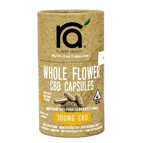 RA FLOWER: 10:1 CBD/THC CAPSULES