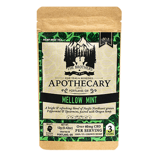 Apothecary Herbal Mint Tea-60mg CBD