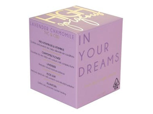 High Gorgeous 'In Your Dreams' Body Lotion 100mg THC 5O mg CBD