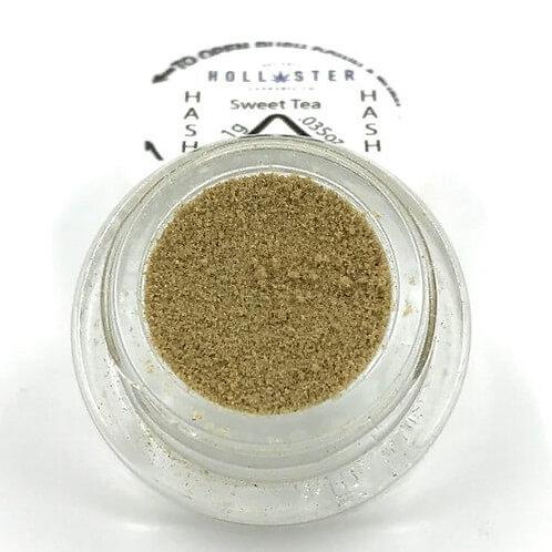 Sweet Tea Bubble Hash by Hollister Cannabis Co. - 1g