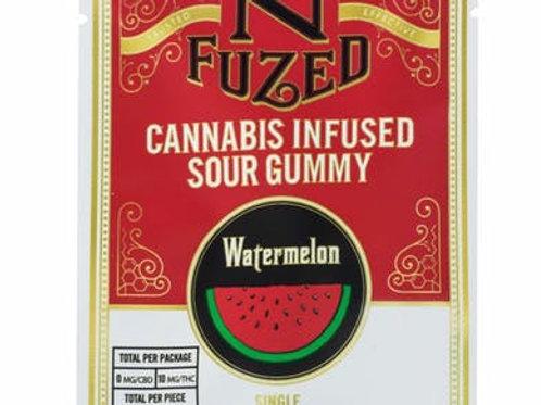 Nfuzed | Sour Watermelon Gummy Single | 10mg