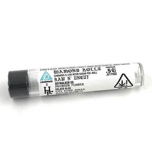 Sky OG x Gelato Glue Infused Preroll by Humboldt's Finest (30.62% THC) - 0.5g
