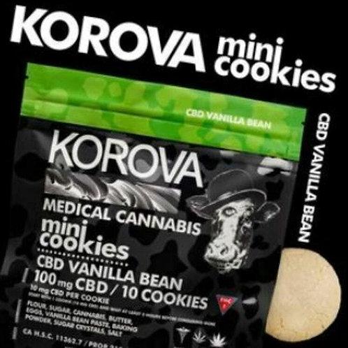 Korova Mini Cookies - CBD/THC 1:1 100mg/100mg