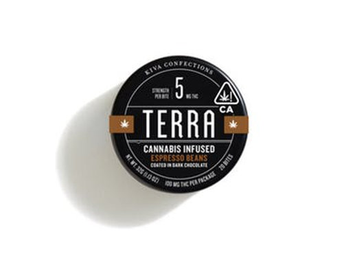 Kiva | Terra Dark Chocolate Espresso Beans