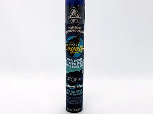 Space Coyote x Utopia Infused Indica (I) Preroll 1g