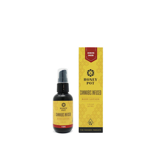 Honey Pot 2oz CI Lotion - 1:1 THC:CBD