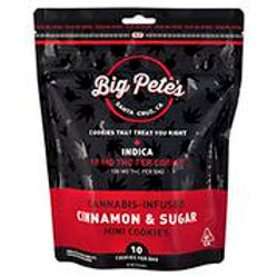 BIG PETE'S CINNAMON & SUGAR COOKIES INDICA 100MG