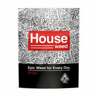 House Weed Prepacked 3.5g Flower - Double Grape, 1/8