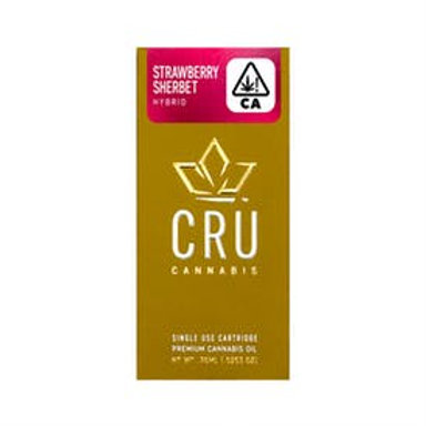 CRU STRAWBERRY SHERBERT CART .75G