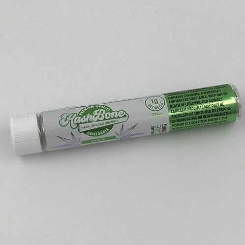 Pacific Girl / Blue Moon Hash Infused Preroll by Hash Bone (28.9% THC) - 1g