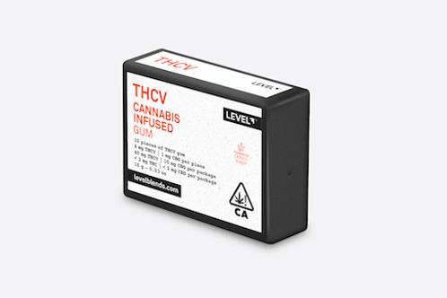 LEVEL GUM THCV 10PC 48MG