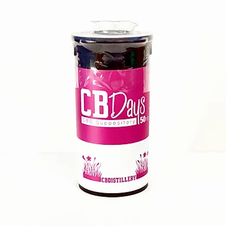 CBDistillery CBDays 50mg Suppository