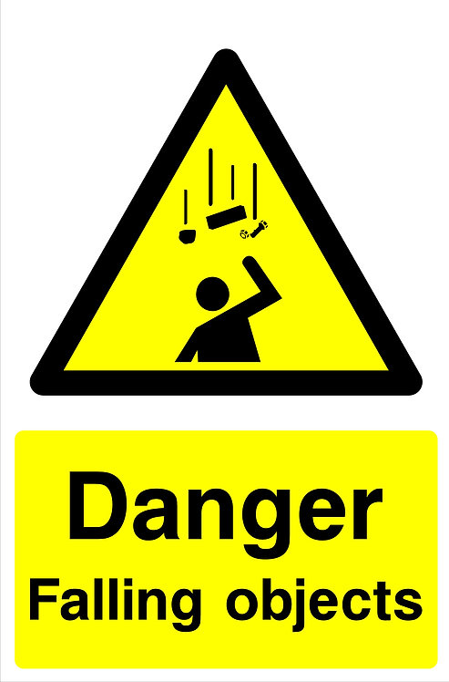 Danger Falling Objects