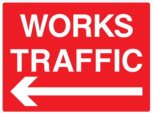 Works Traffic Left