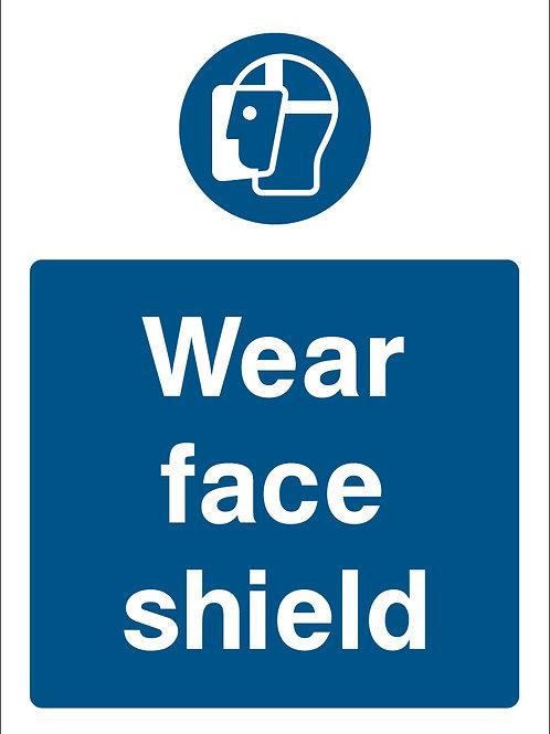 Wear Face Shield (PPE0025)