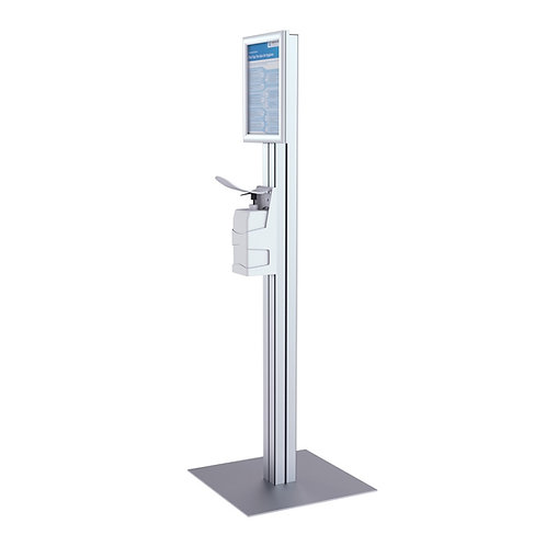 Hand Sanitiser Station with Dispenser Unit - COLLECTION ONLY