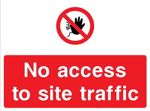 No Access to Site Traffic