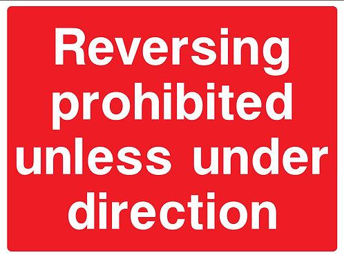 Reversing Prohibited